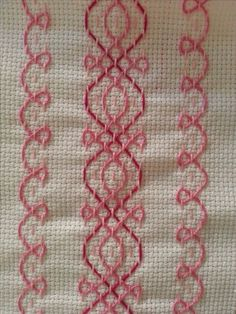 Discover thousands of images about Beiersbont Swedish Embroidery, Hardanger Embroidery, Hand Embroidery Stitches, Ribbon Embroidery, Cross Stitch Embroidery, Embroidery Patterns, Stitch Patterns, Cross Stitches, Loom Patterns