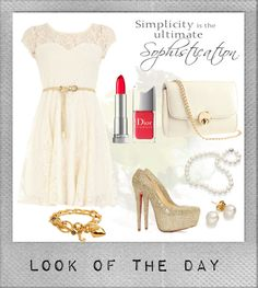 """Look Of The Day #08"" by jyoti-shridhar on Polyvore"
