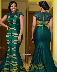 72 Edition Of - Beautiful chic Aso Ebi Style Lace & African Print Outfits For Christmas 2019 Latest African Fashion Dresses, African Dresses For Women, African Print Dresses, African Print Fashion, African Attire, Modern African Dresses, African Fashion Designers, Ankara Fashion, Africa Fashion