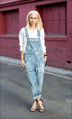 f8efa261cfc2 Overalls With a Button-Down