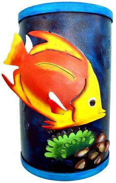 Mexican Fish Wall Sconce