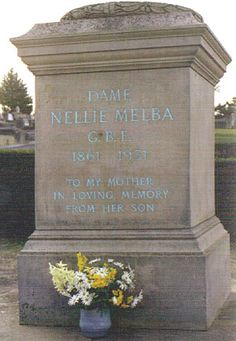Dame Nellie Melba (1861-1931) - Find A Grave Memorial