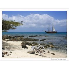 beach Pirates of the Carribean, a photo from Aruba, Other | TrekEarth ❤ liked on Polyvore featuring backgrounds and pirate