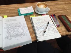 happystudyingtolearn: Day at the local cafe. I'm planning on spending the whole day here.