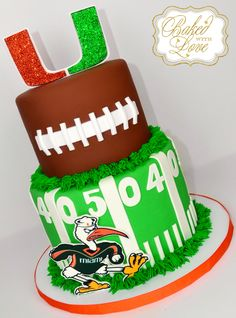 Football cake <3