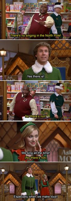 "North Pole | 34 ""Elf"" Quotes That Never Get Old"