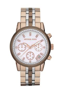 Michael Kors 'Ritz' Chronograph Bracelet Watch available at #Nordstrom