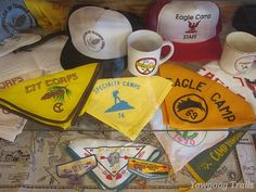 Some of the memorabilia at the #Yawgoog Heritage Center.  A 2014 image by David R. Brierley.