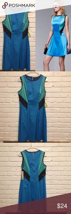 Prabal Gurung for Target Blue Color Block Dress New with tag Prabal Gurung for Target Dress. Blue and Green Color Block in size 8. New and never worn. Prabal Gurung for Target Dresses Strapless