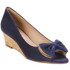 Sapato @Via Marte  Azul Marinho Azul #Shoes #Blue #Summer #Spring #Fashion #Style