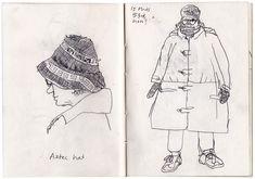Lucinda Rogers - Sketchbook http://www.lucindarogers.co.uk/