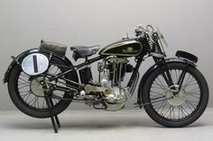 Sunbeam 1935 model 95L Special 500cc 1 cyl ohv