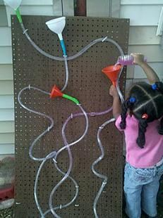 Looking to add a twist to your classroom water play? Try this homemade maze we found at Little Preschool on the Prairie! It only takes a few 'ingredients' and is sure to provide your kiddos with...
