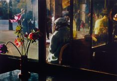 2000 Light Years From Home - goodmemory: Paris café 1950 Ernst Haas