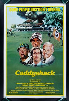 Caddyshack!! Great cast ! Great gags!! Great laughs!!