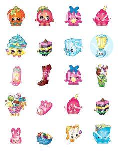 a312b2154a5 Shopkins1 1 inch bottle cap image sheets by GlitzNGlamDezins Shopkins  Ideas