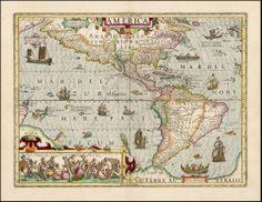 America - Hondius - 1610