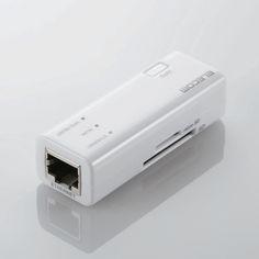 コンパクトな300Mbps無線ルーターにカードリーダー機能が付いた高速Wi-Fiポータブルルーターを発売