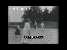 Daughters of Nicholas II playing tennis