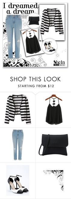 """""""SheIn 3/III"""" by nermina-okanovic ❤ liked on Polyvore featuring River Island and shein"""