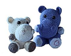 This cute little Hippo pattern can be made using double knit or 4ply wool. 4 ply will produce a much smaller version however it will be necessary to reduce the hook size accordingly. Stitched need to be fairly tight to ensure that stuffing does not show. It is recommended that safety eyes are used especially is making as a gift for a baby or young child. 100g ball will make at least 2 animals and scrapes can be used for the contrast colour. Double Knitting, Pattern Design, Dinosaur Stuffed Animal, Contrast, Crochet Patterns, Stitch, Wool, Stuffing, Children
