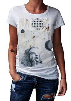 HERMAN EPIS - CHILD - T-Artist Collection - Author T-Shirt #doubleexcess #hermanepis #artist #art #artfashion #fashion #style #workofart #tshirt #tee #womenstshirt #womensclothing #womenswear #womensfashion #alternativetshirt #alternative #elegant #madeinprato #madeinitaly