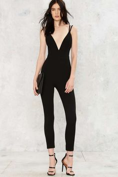 Tight Knot Plunging Romper - Rompers   Jumpsuits | Sale: Newly ...