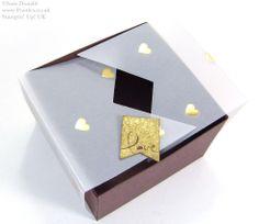 Folded Vellum Chocolate Truffle Box Tutorial
