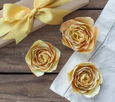 Print then Cut Yellow Ranunculus Flower by Lia Griffith. Make It Now in Cricut Design Space