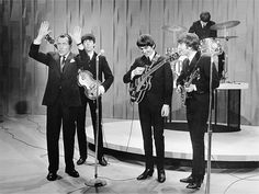 """The Beatles made their first appearance on """"The Ed Sullivan Show,"""""""
