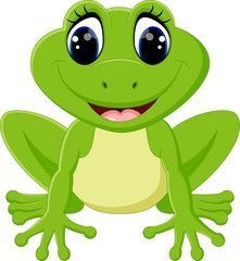 frog with flowers in a pond frog clip art pinterest frogs rh pinterest com