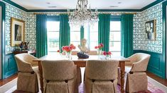 Old-Fashioned Decorating Trends That Are More Popular Than Ever: Hang a Crystal Chandelier