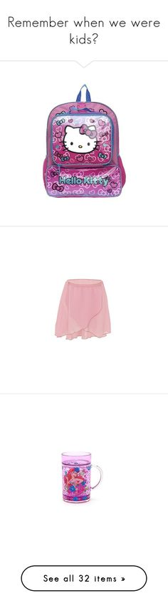 """Remember when we were kids?"" by choi-sc ❤ liked on Polyvore featuring bags, backpacks, pink, bow bag, pencil bag, pink backpack, pink bag, bow backpack, skirts and mini skirts"