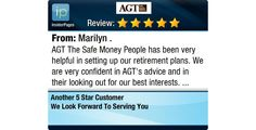 AGT The Safe Money People has been very helpful in setting up our retirement plans. We...