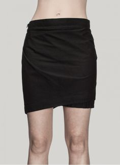 Lost And Found - 12.260.528 Layered Short Skirt http://cruvoir.com/en/lost-and-found/1273-12260528-layered-short-skirt.html