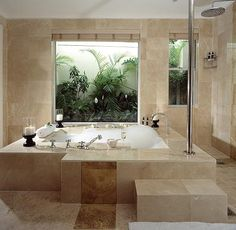 Pure bliss to bath in such a luxury bath! This is taste of a bathroom at The Last Word Constantia in Cape Town South Africa