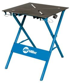 This to start. Eventually build my own!  Workbenches by MILLER ELECTRIC - Workbenches by Zoro Tools Industrial Supplies