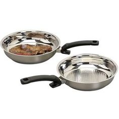 FISSLER Poêle - Crispy Steelux Comfort  Et pleins d'autres articles sur www.cuisineplaisir.fr
