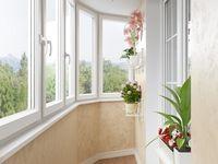 3d визуализация балкона Alcove, Showroom, Sweet Home, Bathtub, Windows, House, Balconies, Amazing, Houses