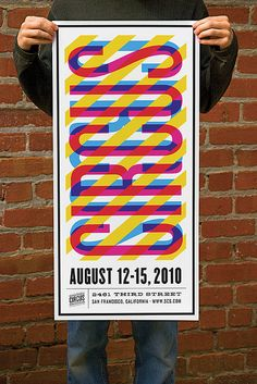 Circus Poster by Nathan Godding, via Flickr