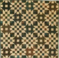 Checkerboard Churn Dash Quilt Pattern SP-105