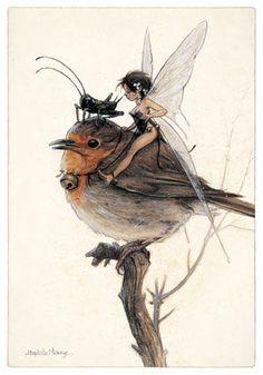 Jean-Baptiste Monge, Fairy Art Print Illustration