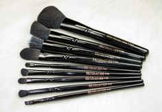 The Makeup Revolution Pro Makeup Brush Collection