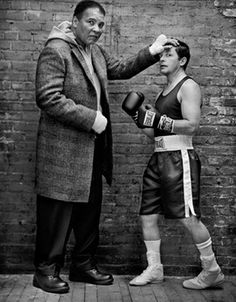 Muhammad Ali and Michael J. Fox by Mark Seliger. My father has Parkinson's and I really feel for what any Parkinson's sufferer goes through.