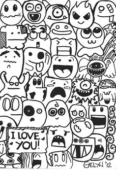 40 Awesome cute doodles images