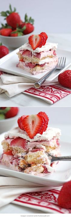 #Strawberry #Shortcake #Tiramisu