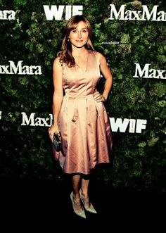 Sasha Alexander attends a Max Mara Women In Film Event 2015