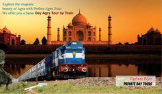 Enjoy the pleasant journey while having your breakfast in train and reach the Mughal city Agra within 3 hours.  Official Website: http://www.perfectagratours.com/ or call us today +91-8430251784   #agratour #agra #samedayagratour #tajmahal #agrafort #samedaytour #indiatour #inboundtour #indiaholiday #familyholidays #holidays #vacations #tour #travel