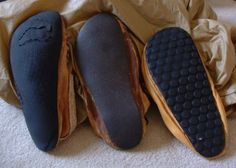 homemade shoe soles