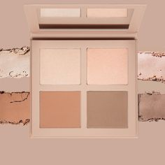 Powder Contour and Highlight Kit in Medium by KKW Beauty Powder Contour, Contour Kit, Contouring And Highlighting, Highlights, Product Launch, Photo And Video, Frame, Beauty, Instagram